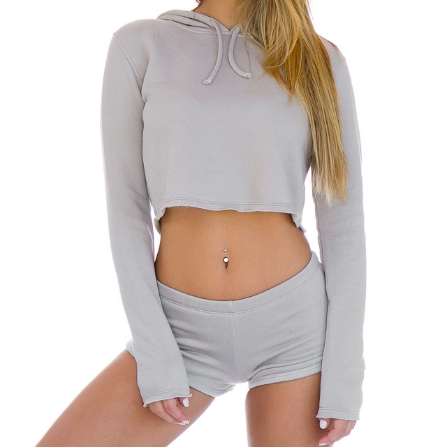 Silo Cropped Hoodie