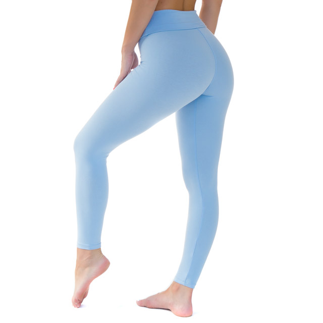 Leggings Baby Blue Disruptive Youth - Savannah Montano